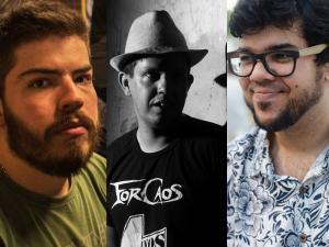 Gustavo Queiroz, Gandhi Guimarães e Filipi Canuto.