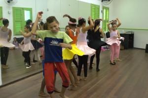 Curso de Dança para cartaz